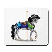 The Carousel Horse Mousepad