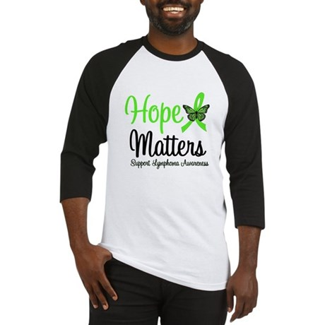 Hope Matters Lymphoma Baseball Jersey