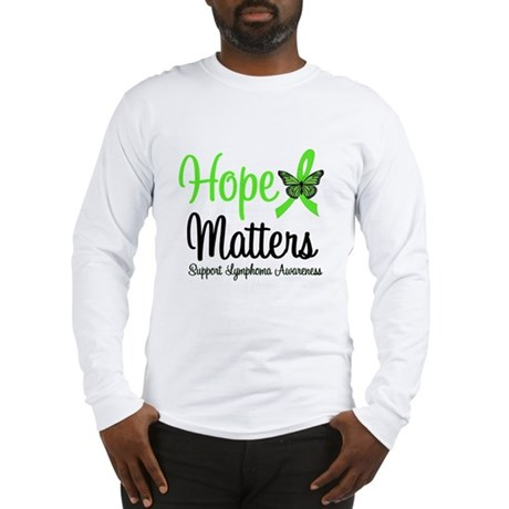 Hope Matters Lymphoma Long Sleeve T-Shirt