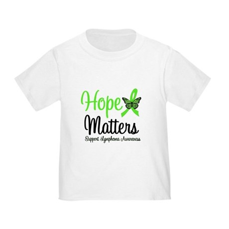 Hope Matters Lymphoma Toddler T-Shirt