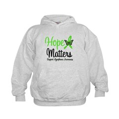 Hope Matters Lymphoma Kids Hoodie