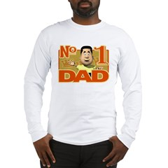 No. 1 Dad Long Sleeve T-Shirt