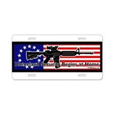 Cool Homeland security Aluminum License Plate