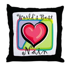 WB Grandma [Welsh] Throw Pillow