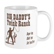 Big Daddys Twink Ranch Mugs