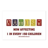 Autism Blocks Postcards (Package of 8)