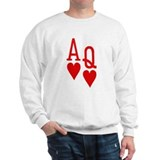 Ace Queen Poker Sweatshirt