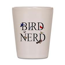 Bird Nerd Shot Glass