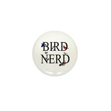 Bird Nerd Mini Button (100 pack)