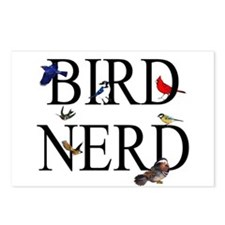 Bird Nerd Postcards (Package of 8)