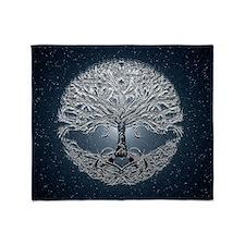 Tree of Life Nova Throw Blanket