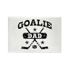 Goalie Dad Rectangle Magnet