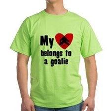 My Heart Belongs To A Goalie T-Shirt