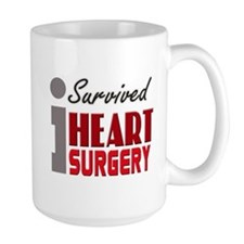 Heart Surgery Survivor Mugs