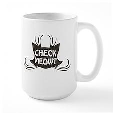 Check Meowt Kitty Cat Meow Mugs