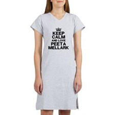 Keep Calm Love Peeta Women's Nightshirt