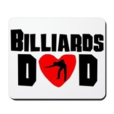 Billiards Dad Mousepad