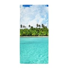 Tropical Beach Beach Towel
