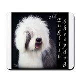 Old English Sheepdog OES Mousepad