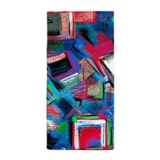 Funky Abstract Beach Towel