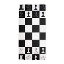 Chessboard Beach Towel