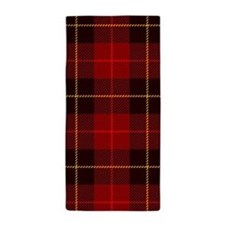 Tartan Plaid Beach Towel