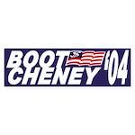 Boot Cheney '04 (Bumper Sticker)