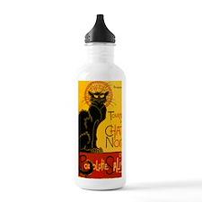 Chat Noir Vintage Water Bottle