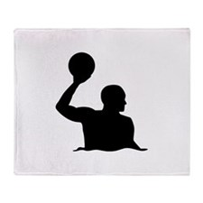Water polo player Throw Blanket