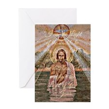 Jesus Quote II Greeting Card
