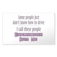 Bad Drivers (Purple) Decal