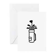 Golf bag Greeting Cards (Pk of 20)