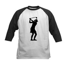 Golf woman Tee
