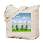The Garden Fence Tote Bag