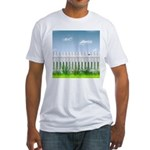 The Garden Fence Fitted T-Shirt