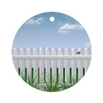 The Garden Fence Ornament (Round)
