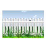 The Garden Fence Postcards (Package of 8)
