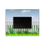 The Garden Fence Picture Frame
