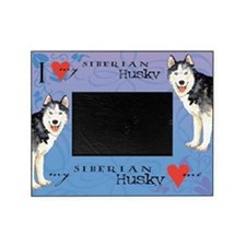 Siberian Husky Picture Frame