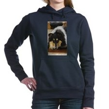 Tri Color Collie Hooded Sweatshirt