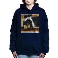 she waits september.png Hooded Sweatshirt