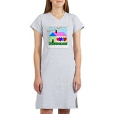 Open your Heart Women's Nightshirt