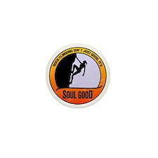 Rock Climber female - Soul Good Mini Button