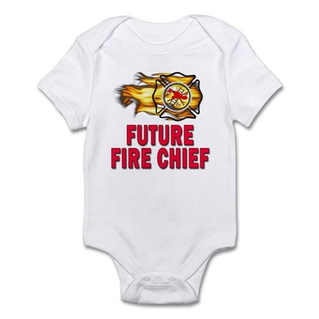 Future Fire Chief Infant Bodysuit