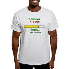 Sending Kisses loading.... T-Shirt