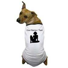 Custom Hot Model Silhouette Dog T-Shirt