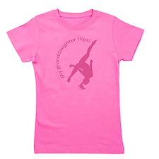 Granddaughter Flips Pink copy.png Girl's Tee