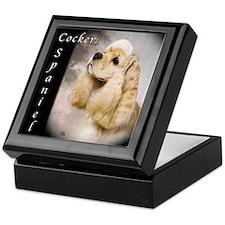 Cocker Spaniel-Buff Keepsake Box