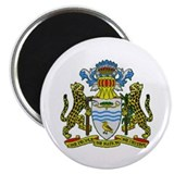Guyana Coat of Arms Magnet