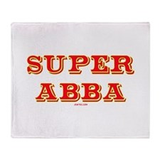 Super Abba Throw Blanket